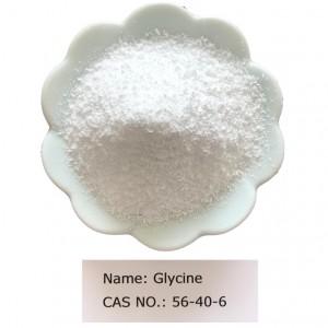 Glycine CAS NO 56-40-6 for Pharma Grade (USP/EP/BP)