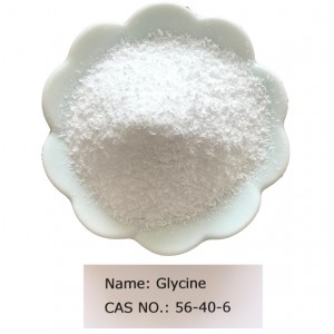 Glycine CAS NO 56-40-6 for Food Grade (FCC/AJI)