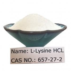 L-Lysine HCL CAS NO 657-27-2 for Food Grade (FCC/AJI/USP)