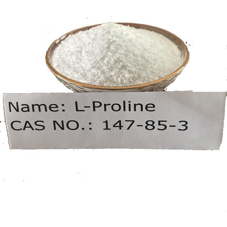 L-Proline CAS NO 147-85-3 for Food Grade (AJI/USP) Featured Image