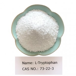 L-Tryptophan CAS NO 73-22-3 for Pharma Grade(USP)